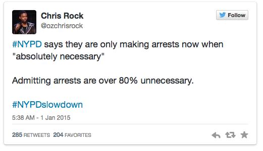 chris rock tweet