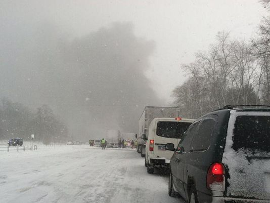 Fireworks Explode in Massive Pileup on I-94 in Michigan