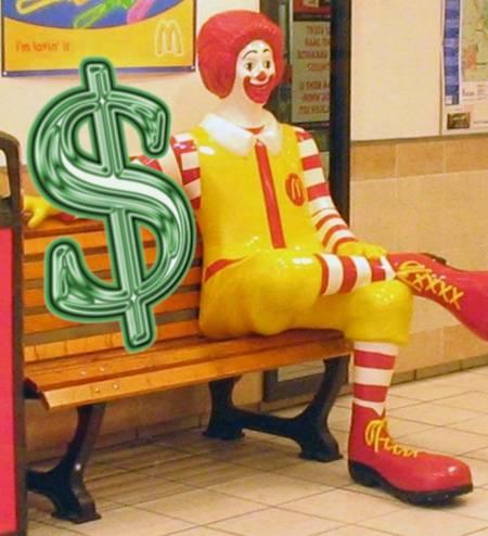 mcdonalds & profits