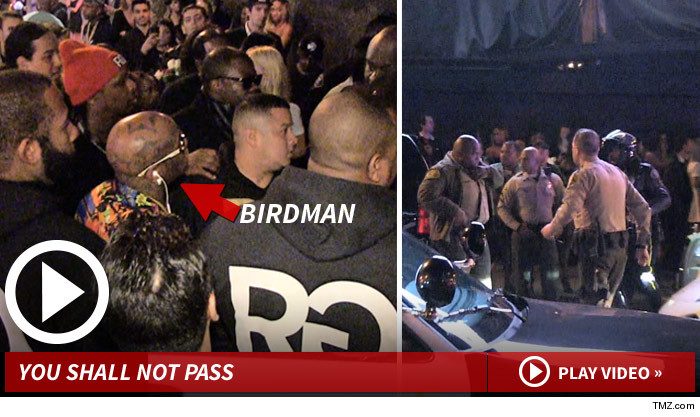 BIRDMAN DENIED ENTRANCE AT NICKI MINAJ PRE-GRAMMY PARTY