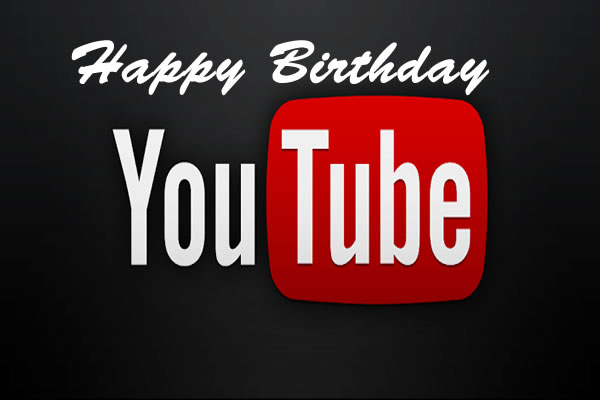 Happy Birthday Youtube
