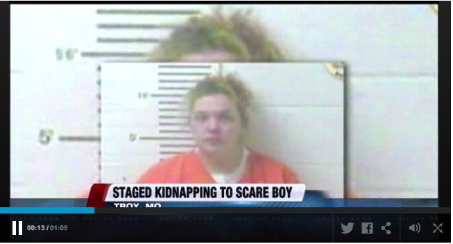 staged kidnapping