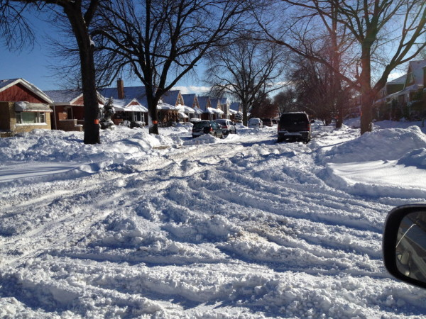 The Snowplows Hit Ald. Ed Burke's Street — Five Times Other Streets Not Even Touched Once
