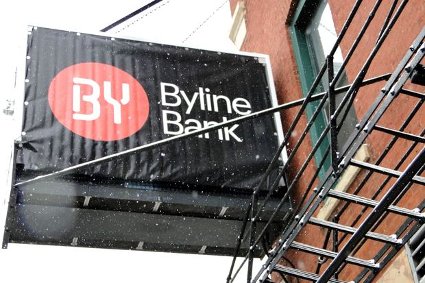 'Byline Bank' Replaces North Community Bank's Name in 24 City Spots