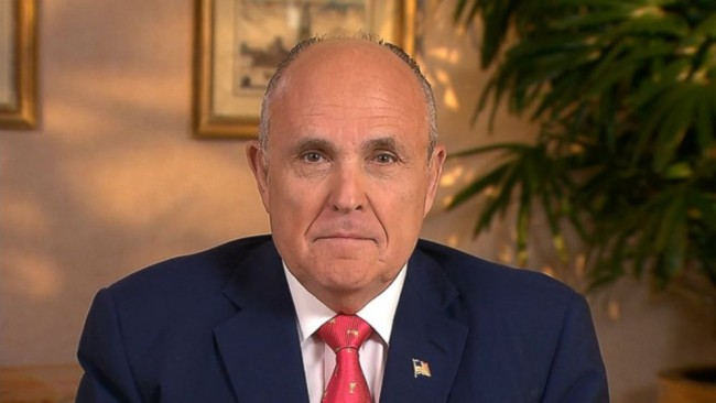 Former NY Mayor Rudy Giuliani Say's President Obama Doesn't Love America