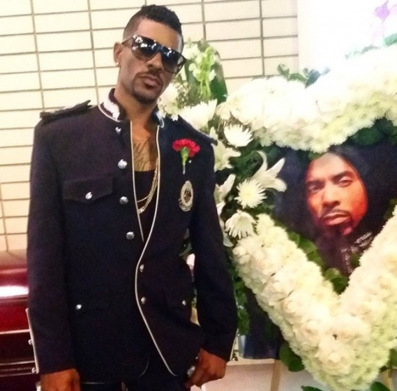 VH1 Star Chance Shares Photos From Brother Ahmad 'Real' Givens' Funeral