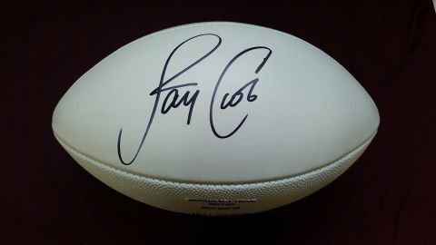 Football Autographed By Jay Cutler Receives Zero Bids At Chicago Charity Auction