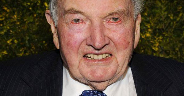 99- Year Old Billionaire David Rockefeller Has A Successful Heart Transplant After 6th Attempt