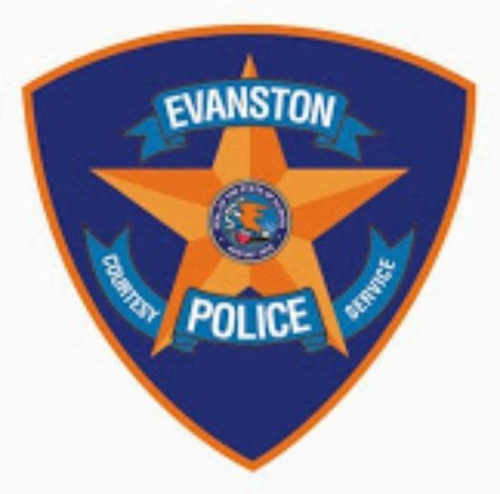 Evanston police badge