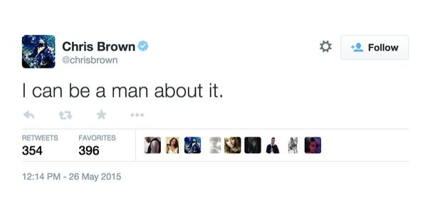 chris brown tweets