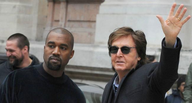 Paul Mc Cartney Compares Kanye West To The Legendary John Lennon