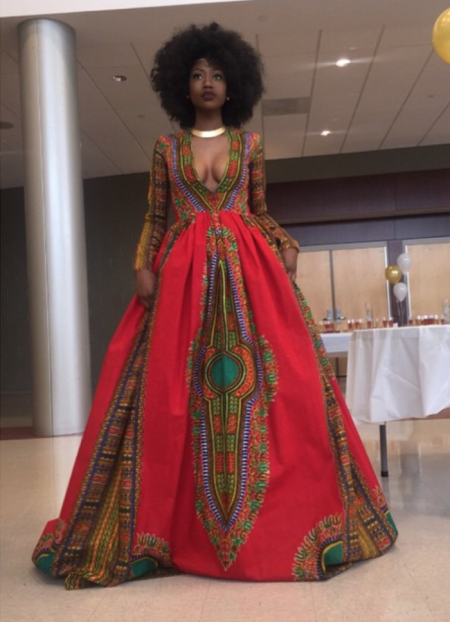 18- Year Old Sends Social Media In a Frenzy With Her Amazing Prom Dress!