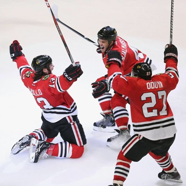 Chicago Black Hawks Win Stanley Cup At Home In Chicago For The  First Time In 77 Years