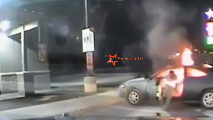 Austin Police, Parking Lot, Car Explodes, Man Injured