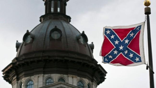Sniper Shoots Down Confederate Flag At South Carolina Statehouse