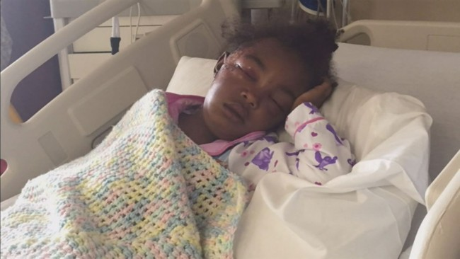 5- Year Old Girl Taken From Home By Stranger & Beaten In Her Own Backyard