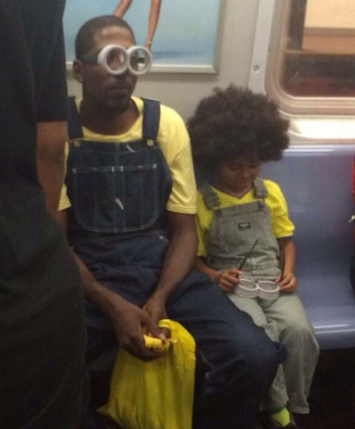 father & son minion