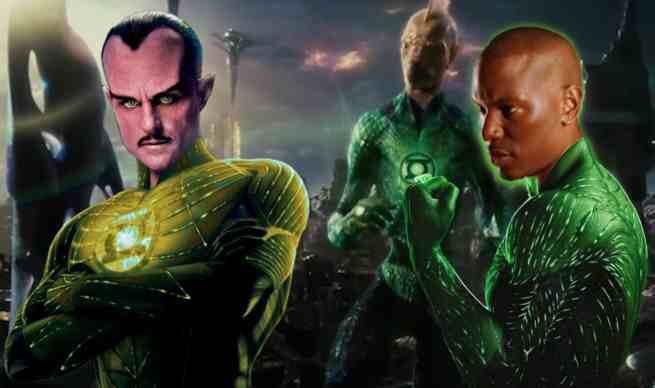 Tyrese as Green Lantern