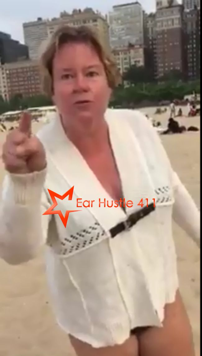 Only In Chicago: Racist Lady Calls Young Children The N Word On The Beach & Continues To Taunt Them