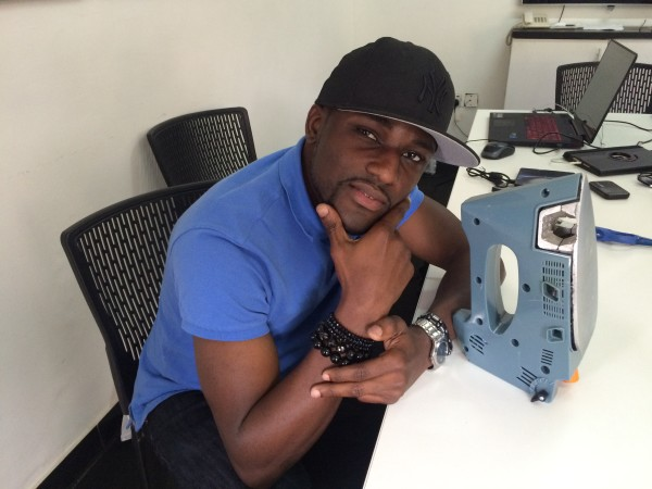 Nigerian Ayokunle Adeniran Invents Gas Powered Iron, Electricity Not Required!