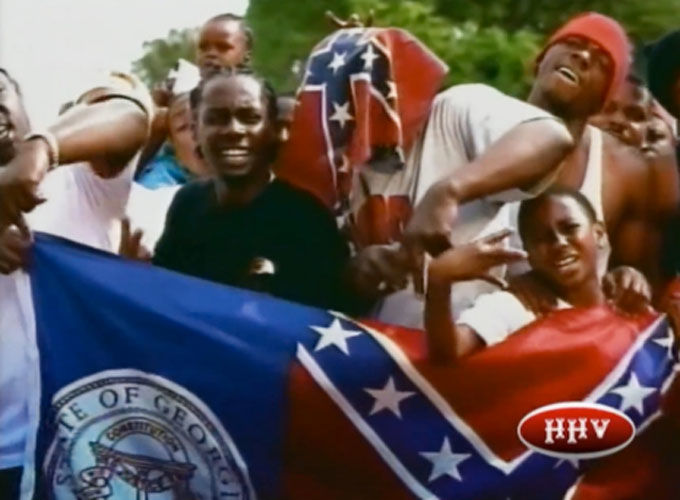 Did Rappers Endorsed The Confederate Flag To Sell Music?