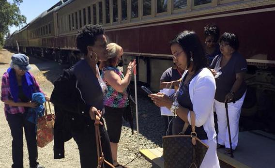 10 black women kicked off wine train