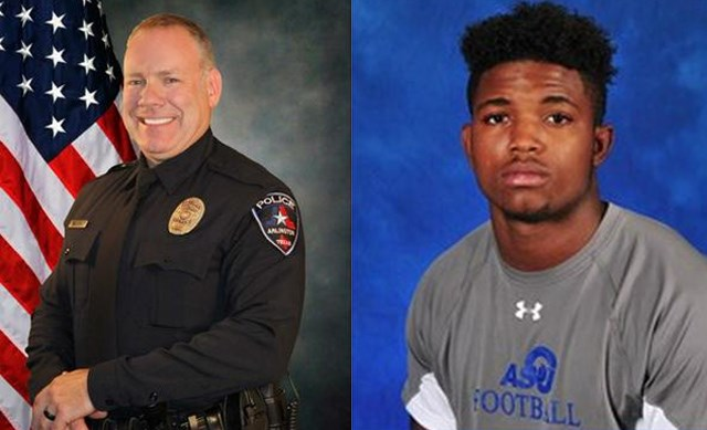 Police Officer In Arlington Fired For Shooting Unarmed Football Player