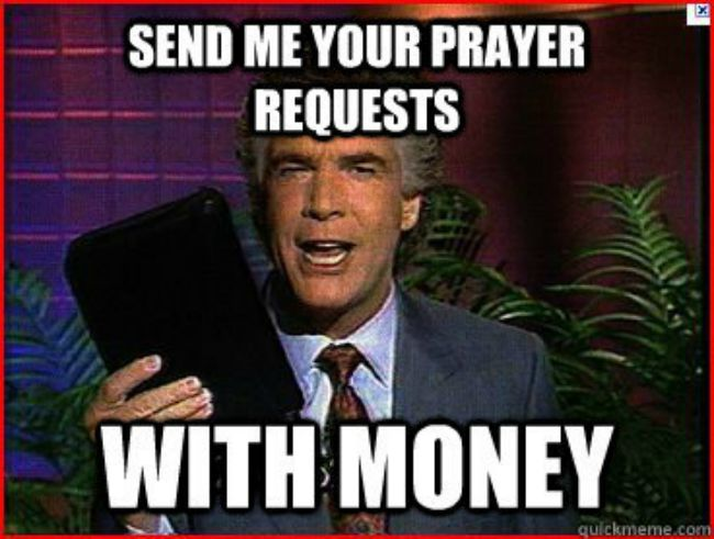 The IRS Is Allegedly Being Pushed Into Taxing Televangelists.