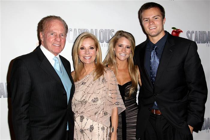 frank gifford & family