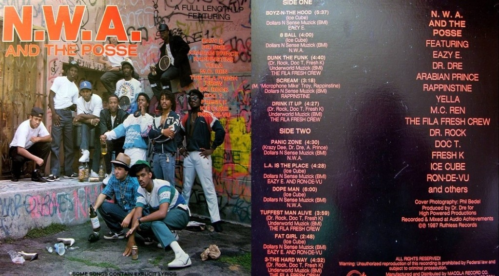 NWA first album