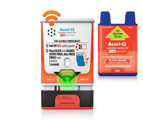 Auvi-Q Epinephrine Auto-Injector