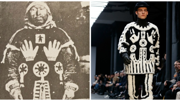 Nunavut Family Disgusted Afer A Fashion Label Designed A copy Of A Sacred Inuit Design