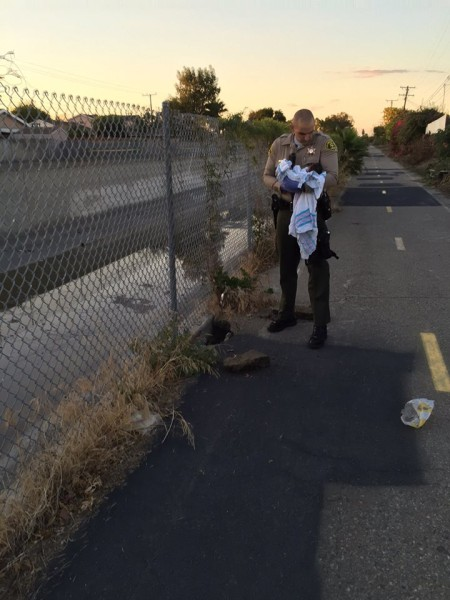 New Born Baby Girl Found Burried Alive Near A Riverbed In Compton!