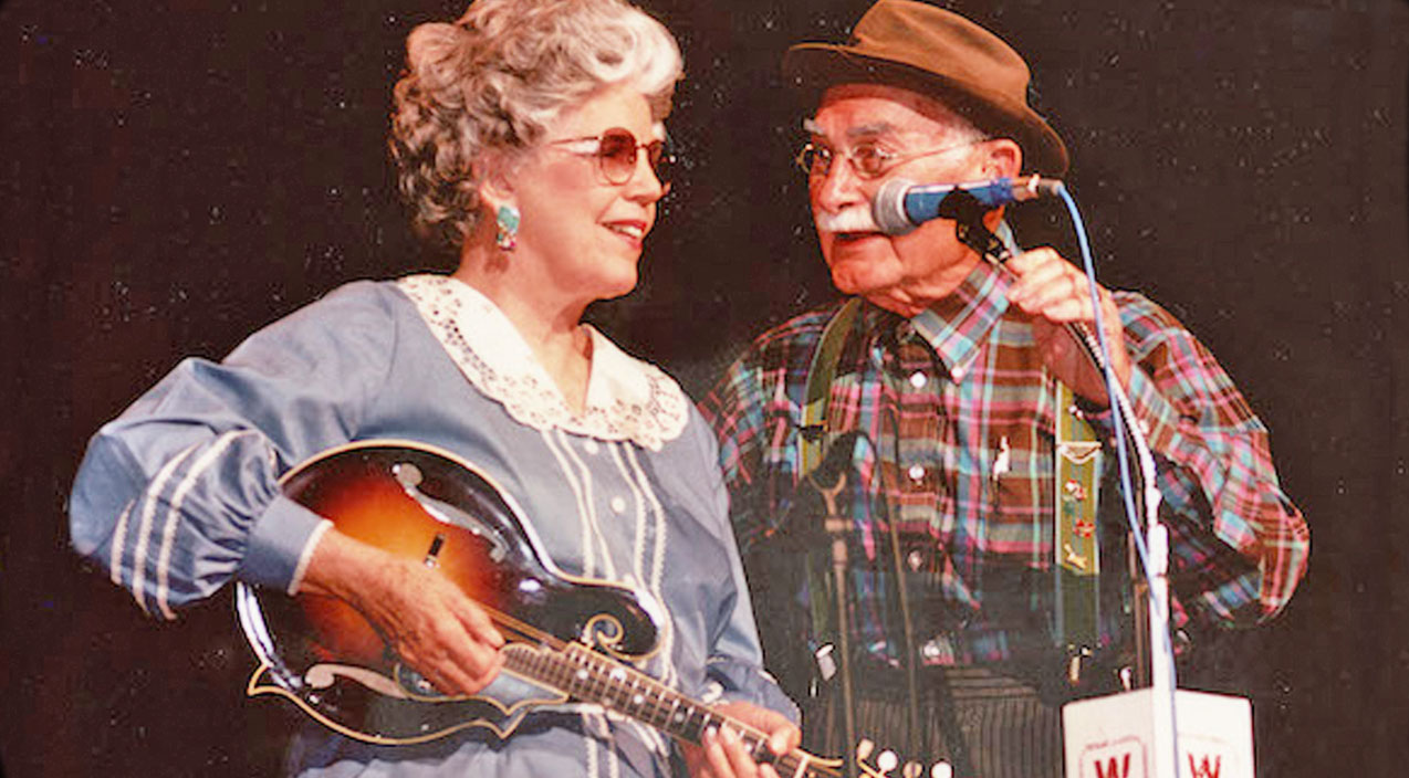 ramona and grandpa jones