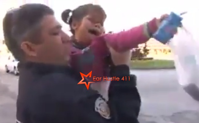 Tear Jerker: 5- Year Old Syrian Girl Thinks Police Are Coming To Take Her Away When They Were Only Concerned About Her Safety [Video]