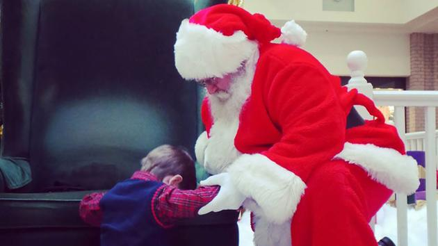 4- Year Old Ask Santa To Help Him Pray For A Sick Baby Who Lives Across The Country