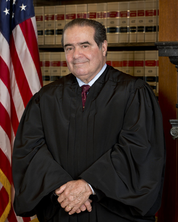 Judge Antonin Scalia