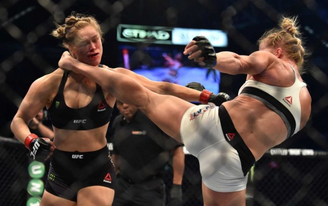 Ronda Rousey Confirms It will be Several Months Before She Can Eat An Apple After That Jaw Dropping Kick She Received From Holly Holm