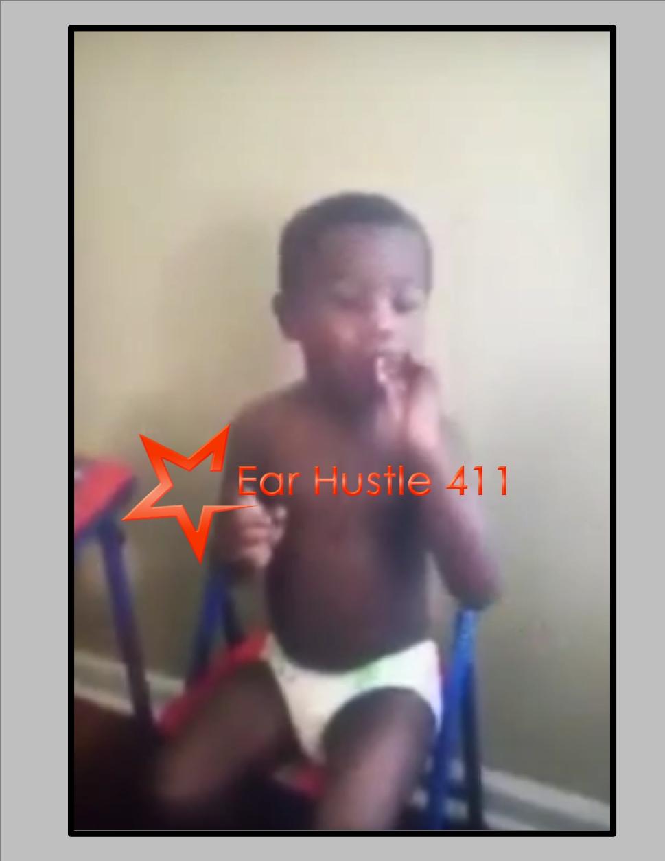 toddler smoking pot