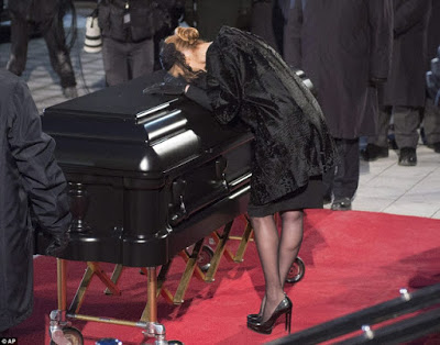 Celine Dion Bids Heartbreaking Farewell To Her Husband Rene