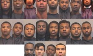 20 arrested