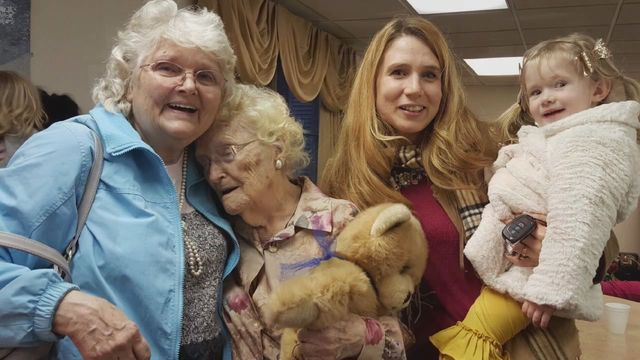 82-Year Old Woman Meets 96-Year Old Birth Mother Who Gave Her Up At 14-Years Old