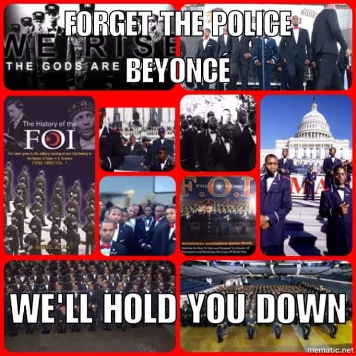 """During The 2016 Saviors Day Event, Minister Louis Farrakahn Said, """" If The Police Will Not Protect Beyonce, The Nation Of Islam Will"""