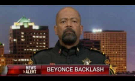 African-American Sheriff David Clarke Says If Lucifer Had A Son, It would Be Louis Farrakhan In response To Farrakhan Providing Security For Beyonce