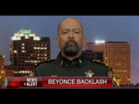 African-American Sheriff David Clarke Says If Lucifer Had A Son, It would Be Louis Farrakhan In response Of Farrakhan Providing Security For Beyonce