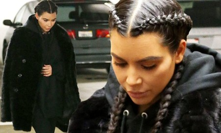 """MTV UK Credits Kim Kardashian For Making Cornrows A Popular Trend By Giving It A Differnt Name """"Boxer Braids"""""""