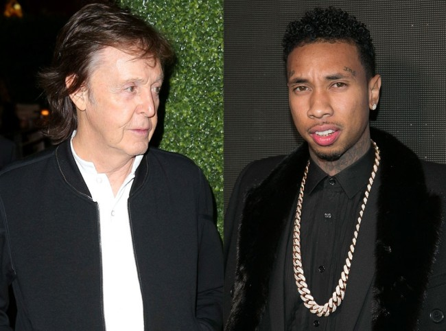 Rapper Tyga Denied Legendary Icon Paul McCartney Entry To His Grammy After Party