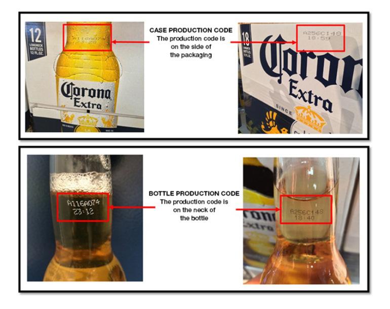 corona beer recall
