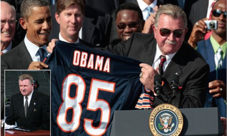 After Calling Obama The Worst President We Ever Had, Mike Ditka Was Replaced On ESPN Sunday NFL Countdown A Week Later