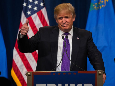 Donald Trump Wins The Illinois GOP Primary